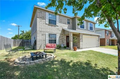 Killeen Single Family Home For Sale: 3811 Latigo Drive