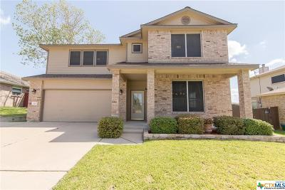 Harker Heights Single Family Home For Sale: 303 Buckskin Trail