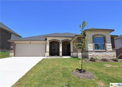 Killeen Single Family Home For Sale: 7604 Red Coral Drive