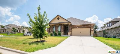 Harker Heights Single Family Home For Sale: 822 Valentino Drive