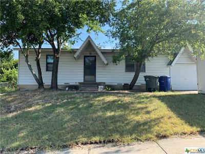Copperas Cove Single Family Home For Sale: 2207 Terrace Drive