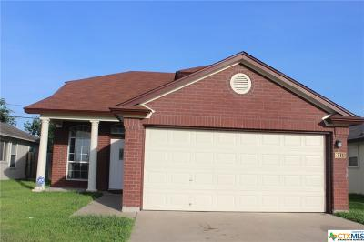Killeen Single Family Home For Sale: 2415 Haven Drive