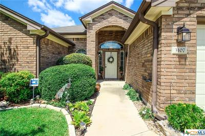 Belton Single Family Home For Sale: 3107 Pitchfork Circle