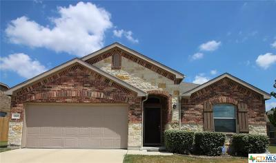 Killeen Single Family Home For Sale: 3607 Cottonpatch Drive