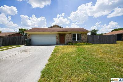 Killeen Single Family Home For Sale: 2204 El Dorado Drive
