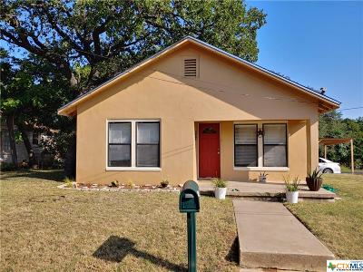 Lampasas Single Family Home For Sale: 801 W Avenue C
