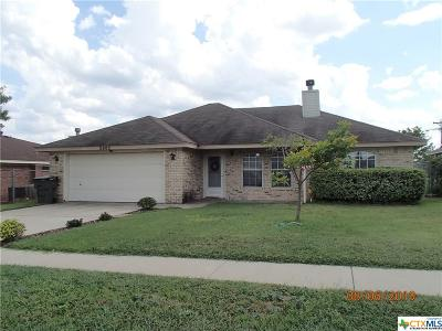 Killeen Single Family Home For Sale: 2002 Agate Drive