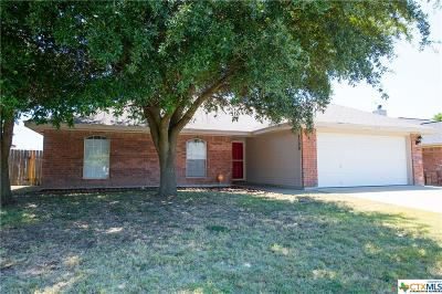Killeen Single Family Home For Sale: 4309 Embers Drive
