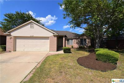 Killeen Single Family Home For Sale: 2507 Rampart Loop