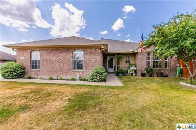 Copperas Cove, Kempner Single Family Home For Sale: 124 Meadow Lake Lane