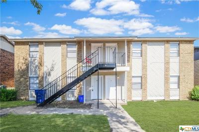 Copperas Cove Multi Family Home For Sale: 301 Northern Dove Lane #A-D