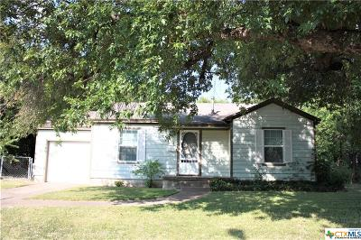 Killeen TX Single Family Home For Sale: $49,900