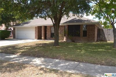 Killeen Single Family Home For Sale: 4219 Frontier Trail