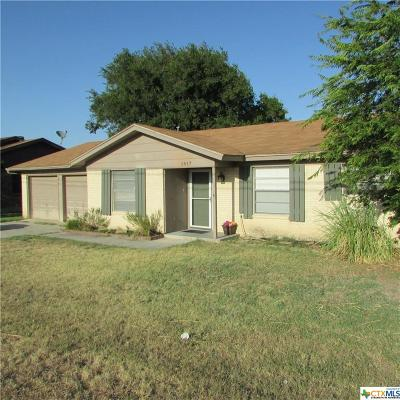 Copperas Cove Single Family Home For Sale: 1817 S Fm 116