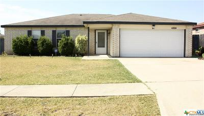 Killeen Single Family Home For Sale: 4204 Beach Ball Drive
