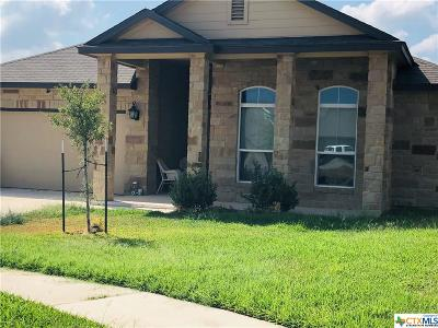 Killeen Single Family Home For Sale: 3302 Parkmill Drive