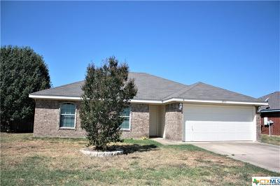 Copperas Cove, Kempner Single Family Home For Sale: 2903 Lindsey Drive