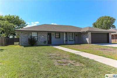 Harker Heights Single Family Home For Sale: 1706 Lynx Circle