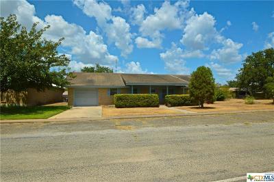 Lampasas County Single Family Home For Sale: 206 W Main Street