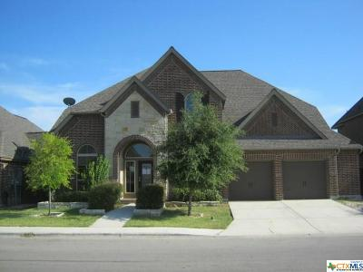 Seguin Single Family Home For Sale: 2737 Saddlehorn Drive