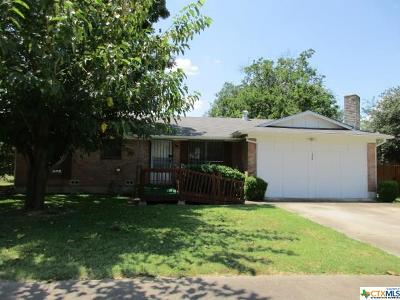 Killeen Single Family Home For Sale: 2504 John Road