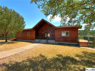 Burnet County Single Family Home For Sale: 105 Junction Circle