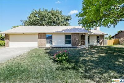 Harker Heights Single Family Home For Sale: 707 Beaver Trail