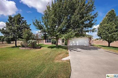 Salado Single Family Home For Sale: 124 Prairie Lane