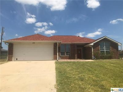 Copperas Cove Single Family Home For Sale: 478 County Road 4884