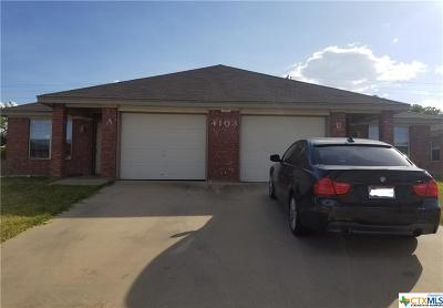 Copperas Cove Single Family Home For Sale: 4103 Primrose Drive