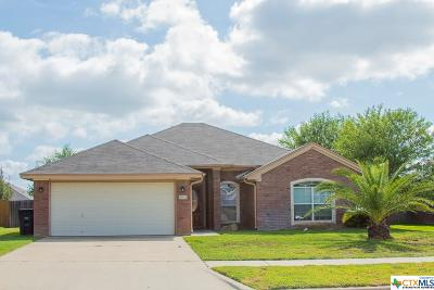 Killeen Single Family Home For Sale: 4804 Cinnabar Way