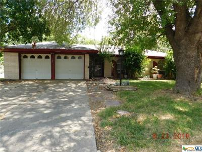 Copperas Cove TX Single Family Home For Sale: $84,900