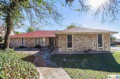Harker Heights Single Family Home For Sale: 1511 Spicewood Circle