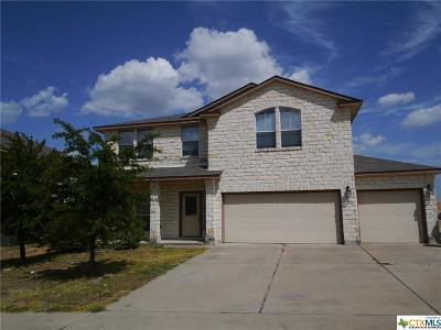 Copperas Cove TX Single Family Home For Sale: $183,000