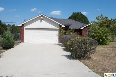 Lampasas County Single Family Home For Sale: 161 Cheyenne Street