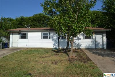Copperas Cove Single Family Home For Sale: 1226 And 1228 Georgetown Road