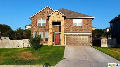 Copperas Cove Single Family Home For Sale: 1126 Ewell Court