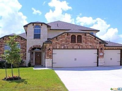 Harker Heights Single Family Home For Sale: 830 Tuscan Road