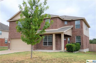 Harker Heights Single Family Home For Sale: 513 Cattail Circle