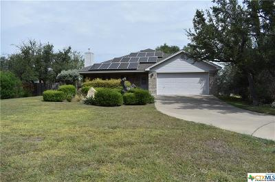 Lampasas Single Family Home For Sale: 2103 Rocky Mountain Drive