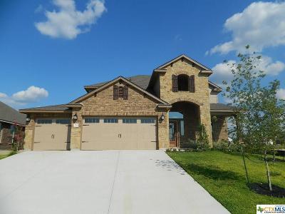 Harker Heights Single Family Home For Sale: 2509 Cortona