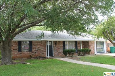 Belton Single Family Home For Sale: 312 Montrose Street
