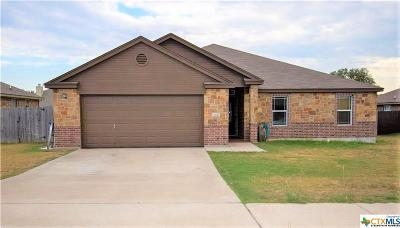 Copperas Cove Single Family Home For Sale: 3417 Dalton Street