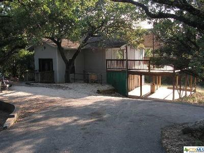 Canyon Lake TX Single Family Home For Sale: $335,000
