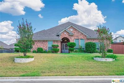 Harker Heights Single Family Home For Sale: 1700 Iron Jacket Trail