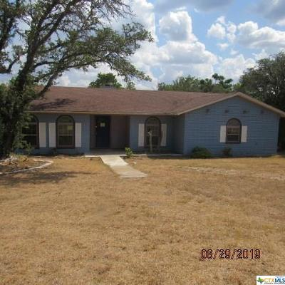 Kempner TX Single Family Home Pending: $118,000