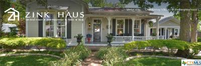New Braunfels Single Family Home For Sale: 168 E Zink Street