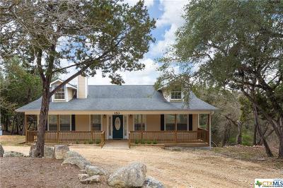 Canyon Lake Single Family Home For Sale: 153 Sunrise Drive