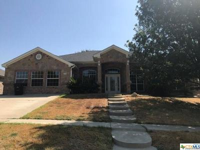 Killeen Single Family Home For Sale: 4910 Fossil