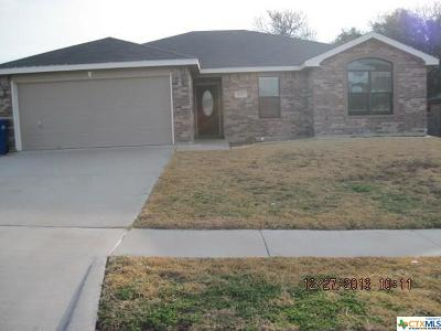 Copperas Cove Single Family Home For Sale: 1123 Marlee Circle